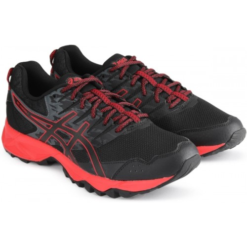 Acheter en de ligne ASICS Hommes Noir & Rouge 19933 ASICS GEL SONOMA 3 Chaussures de course 9728d51 - propertiindonesia.site