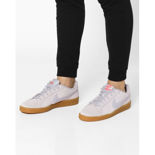 ... NIKE Panelled Sneakers with Lace-Up Fastening ...