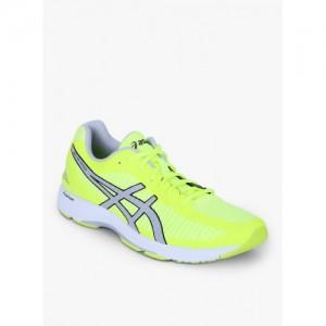 ASICS Men Fluorescent Green GEL-DS TRAINER 23 Running Shoes