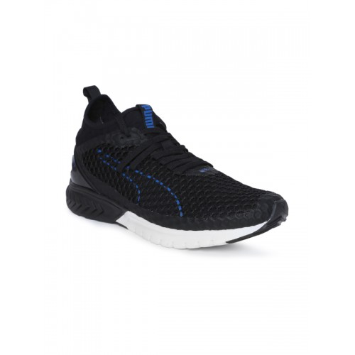 Buy Puma Men Black IGNITE Dual NETFIT Running Shoes online  6362cd073