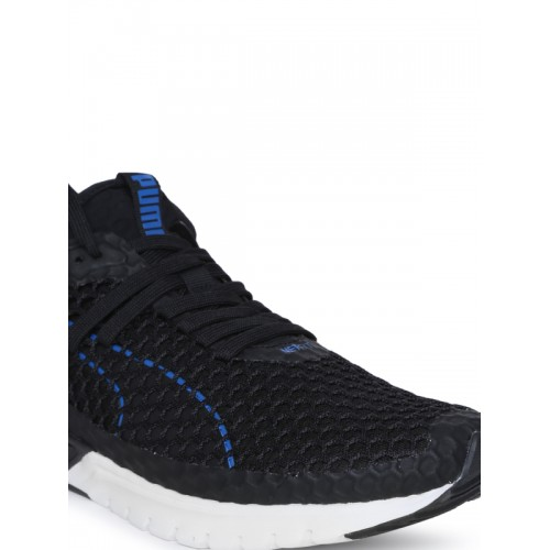 Puma Men Black IGNITE Dual NETFIT Running Shoes