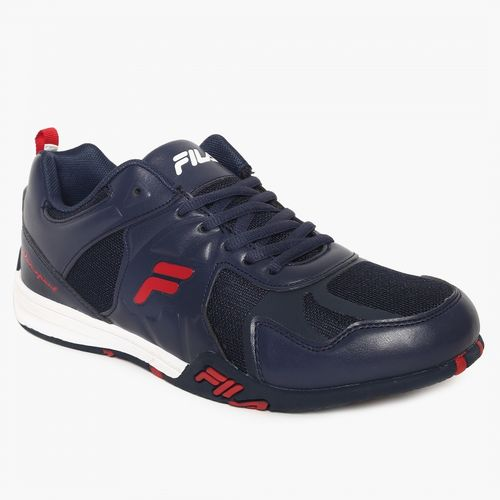 FILA Men Navy DYNAMO LOW MOTOR SPORTS Sneakers