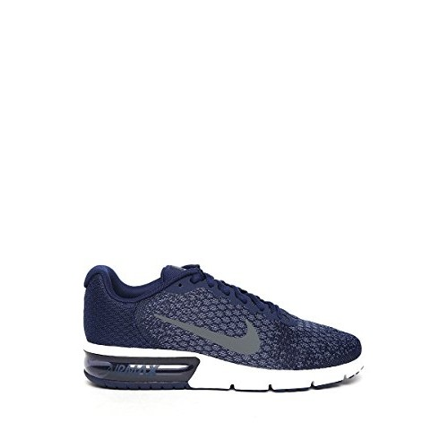 8876563a54ee6 Buy Nike Navy Blue Air Max Sequent 2 Running Shoes online ...