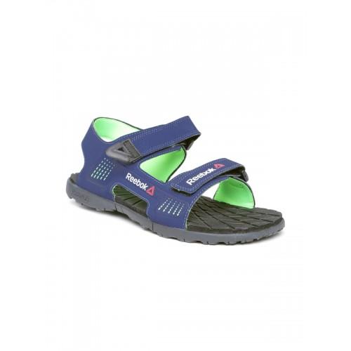 711075f37ba65f Buy Reebok Men Navy Chrome Rider Sports Sandals online ...