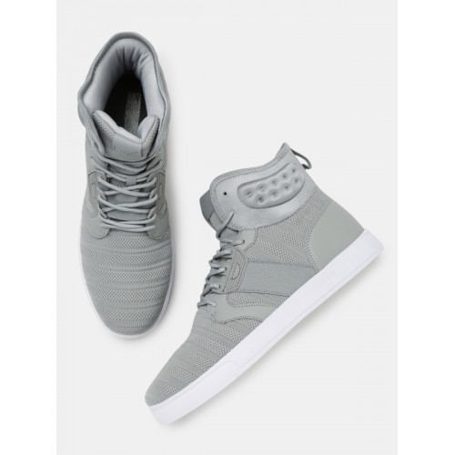 c1f0db609 Buy HRX by Hrithik Roshan Men Grey MJ-10894A High-Top Sneaker online ...