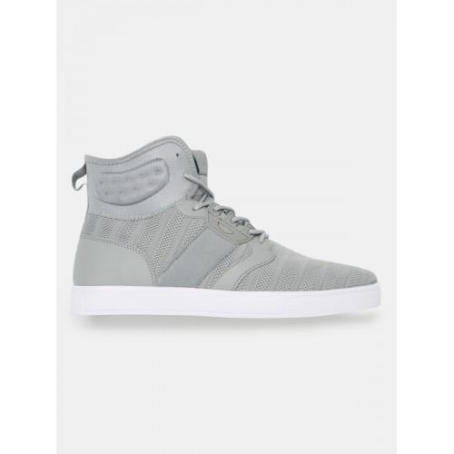 dc6cbb382 Buy HRX by Hrithik Roshan Men Grey MJ-10894A High-Top Sneaker online ...