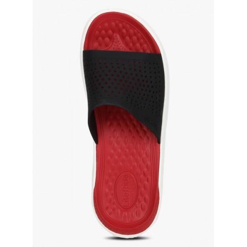 Crocs Literide Slide Black Slippers
