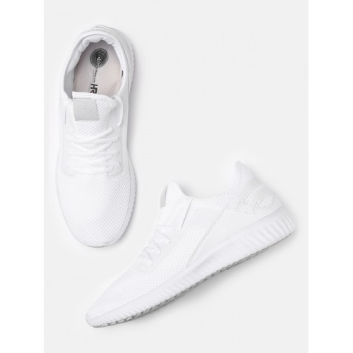 d15e6cb93 Buy HRX by Hrithik Roshan White Rebouncing Memory Foam Men Sneakers ...