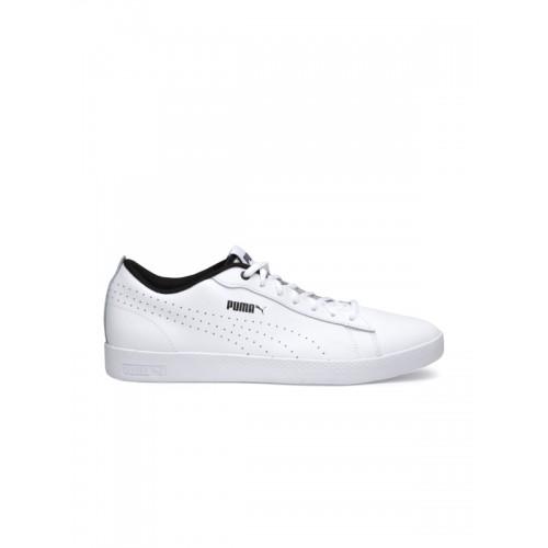 160db1ed1fa Buy Puma Women White Smash Wns V3 L Perf Sneakers online