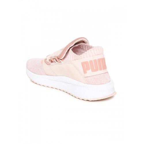 7a9454cf058d Buy Puma Women Pink TSUGI Shinsei evoKnit Slip-On Sneakers online ...