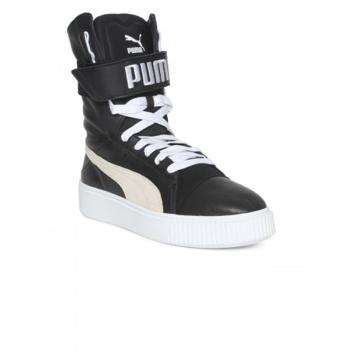 8b84d37e6ace ... Puma Women Black Printed Synthetic Platform Boot High-Top Sneakers ...