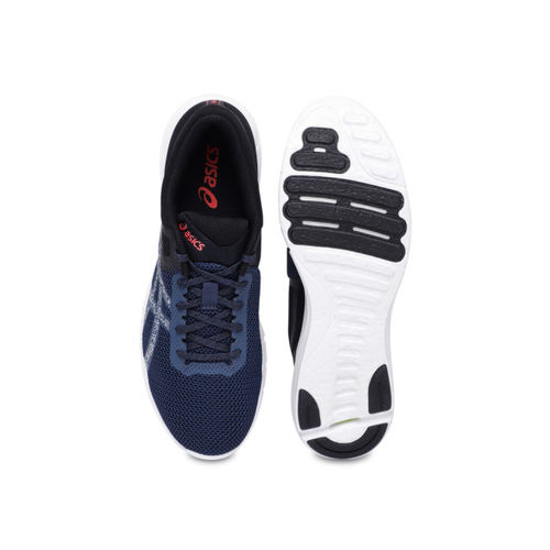 Asics  Nitrofuze 2  Navy Blue Running Shoes