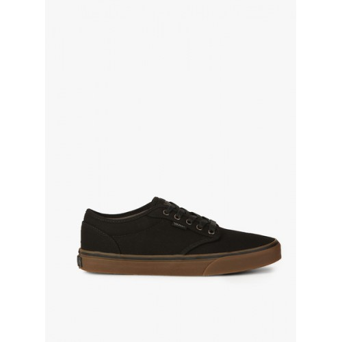 Vans Black Canvas Men Sneakers