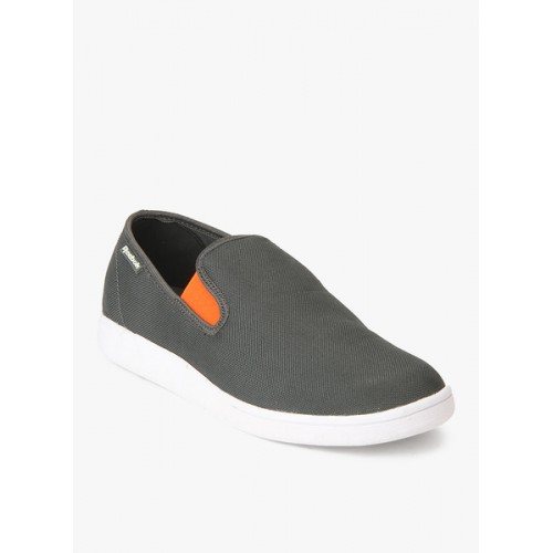 e5b8923e Buy Reebok Grey Canvas Casual Shoes For Men online | Looksgud.in
