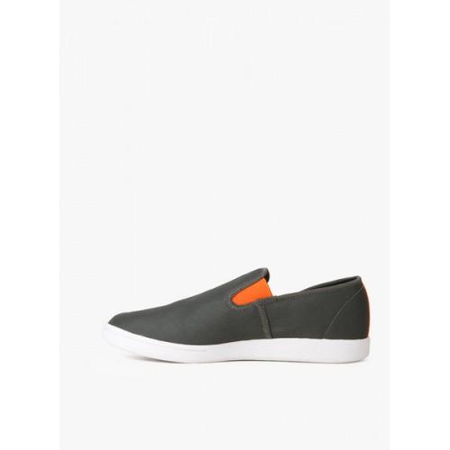 d231a7f6952de1 Buy Reebok Grey Canvas Casual Shoes For Men online