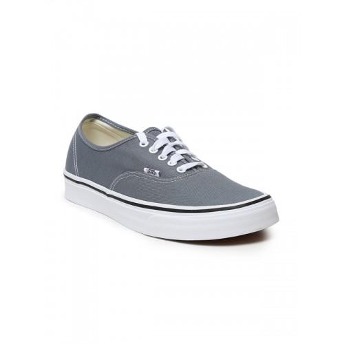 Buy Vans Grey Lace-Up Men Sneakers