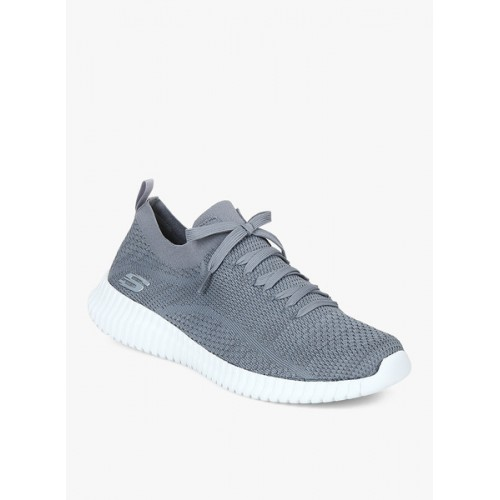 Skechers Elite Flex- Ibache Grey Running Shoes