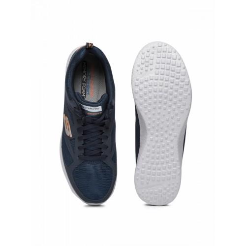 Skechers Men Navy Burst Casual Shoes