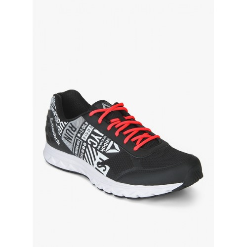 60% clearance hot-selling official laest technology Buy Reebok Run Voyager LP Black & White Running Shoes online ...