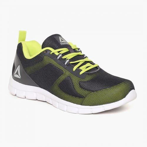 fd3ae2f2948 Buy Reebok Men Grey   Fluorescent Green Super Lite 2.0 Running Shoes ...