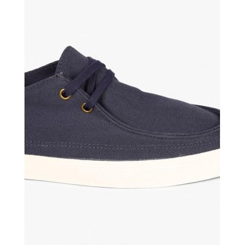 Vans Navy Blue Lcae-Up Men Sneakers