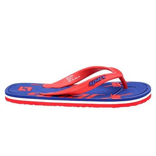 Sparx Blue Rubber Slip-On Casual Flip Flops