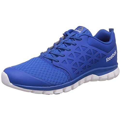 5238bade536 Buy Reebok Sublite Xt Cushion 2.0 Blue Mesh Running Shoes online ...