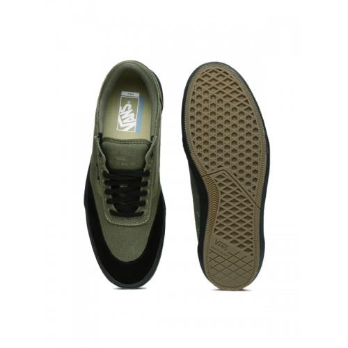625d806250 Buy Vans Men Olive Green Gilbert Crockett 2 Pro Skate Shoes online ...