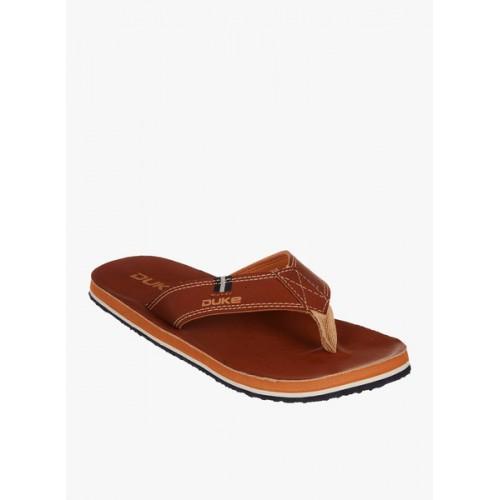 Duke Brown Slippers