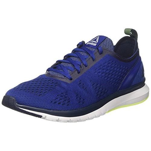Buy Reebok Print Smooth Clip Ultk Blue Mesh Running Shoes online ... 9ed67d81e