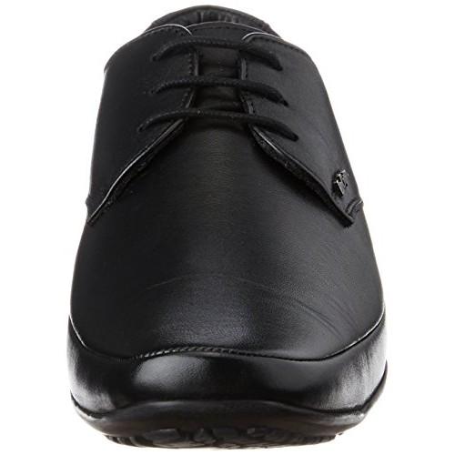 Lee Cooper Black Leather Men's Formal Shoes