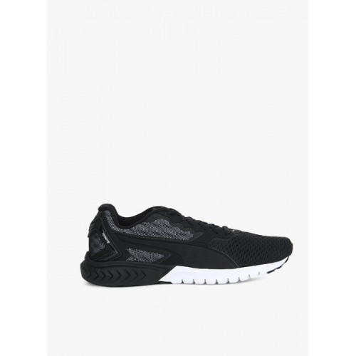 d8c340ab6 Buy Puma Ignite Dual Mesh Black Running Shoes online | Looksgud.in
