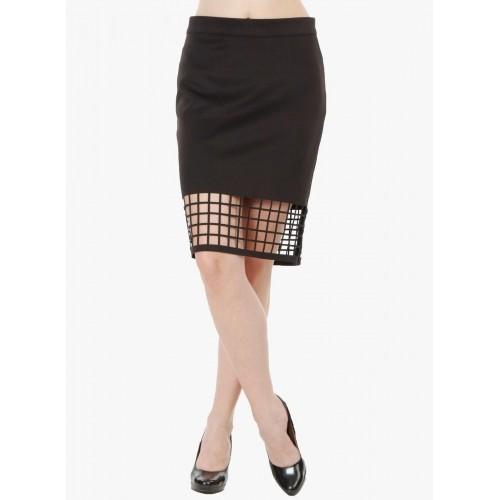 buy fuziv black pencil skirt looksgud in