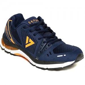 Seven Blue Orange Peal Running Shoes