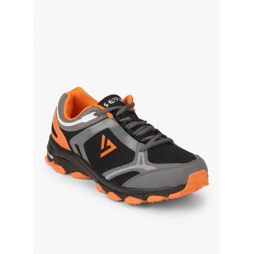 Seven Black Running Men's Shoes
