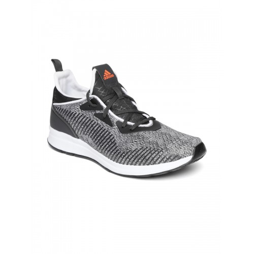 White Tylo Printed Running Shoes