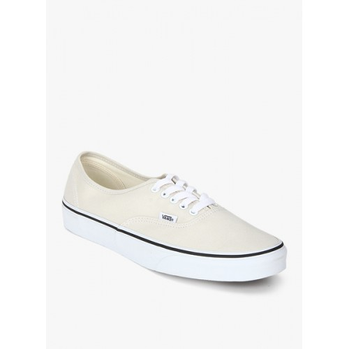 Vans Authentic Cream Sneakers  Vans Authentic Cream Sneakers ... bd16db013f