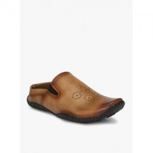 Elpaso Tan TPR Slip On Loafers