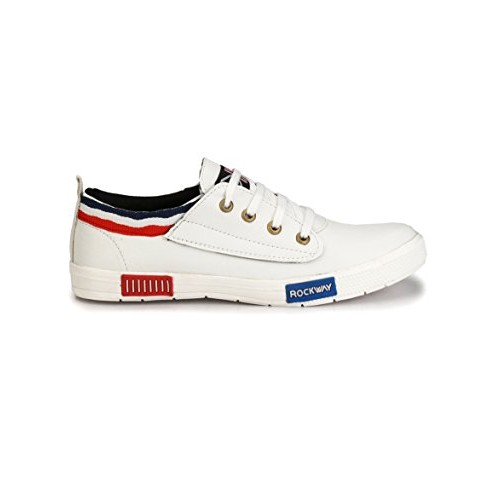 AORFEO White Casual Shoes for Men