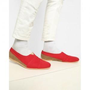buy xdian maroon korean casual shoes for men online