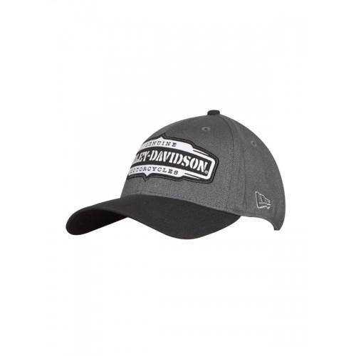 c7318556e03 ... Baseball Cap  Harley-Davidson Men Charcoal Grey   Black Solid Baseball  ...