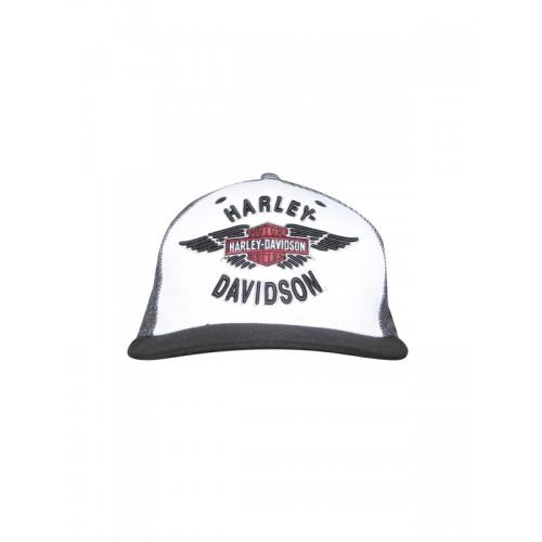 6cf70586383e4 ... Baseball Cap  Harley-Davidson Men White   Black Embroidered Baseball ...