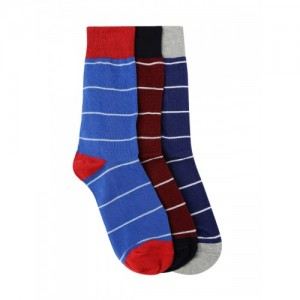 Mast & Harbour Men Set of 3 Above Ankle-Length Socks