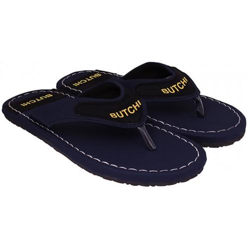 Butchi Men Blue Slippers