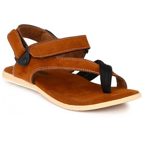 0a3bdd160f3d AfroJack Men s Brown Sandals  AfroJack Men s Brown Sandals ...