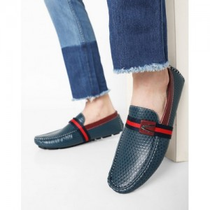 DUKE Slip-On Shoes with Contrast Upper Strap