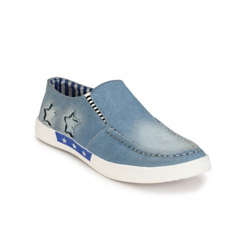 Lee Peeter Sneakers Blue Casual Shoes