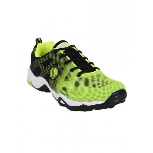 Action Shoes green Mesh sport shoe