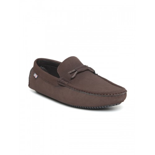 Arrow Men Brown Driving Shoes