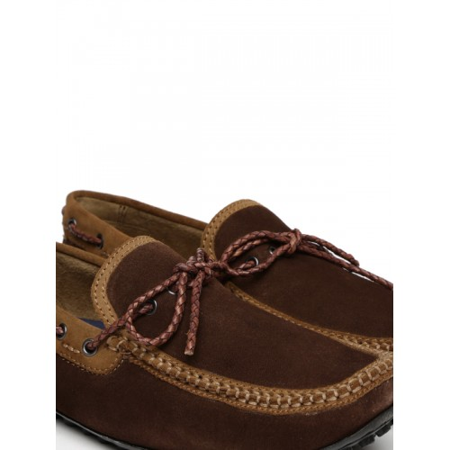4ca2a247eb8 Buy WROGN Men Brown Driving Shoes online